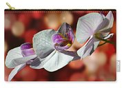 Orchid Flower Photographic Art Carry-all Pouch