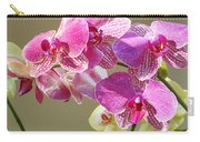 Orchid Flowers Art Prints Pink Orchids Carry-all Pouch