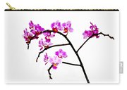 Orchid In White  Carry-all Pouch