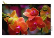 Orchid Melody Carry-all Pouch by Karen Wiles