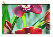 Orchid Rusty Carry-all Pouch by Marty Koch
