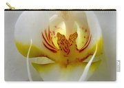 Orchid Upclose Abstract Carry-all Pouch