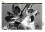 Orchids 2 Bw Carry-all Pouch