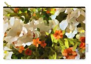 Orchids And Hydrangea Carry-all Pouch
