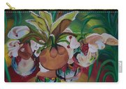Orchids In Raindrop Reflections Carry-all Pouch