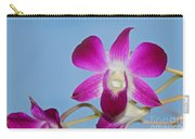 Orchids With Blue Sky Carry-all Pouch