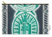 Order Of The 20th Anniversary Release 17 November 1940 To 1960 Patriam Servando Victoriam Tulit Carry-all Pouch