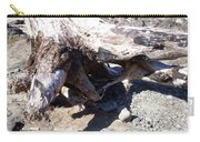 Oregon Beach - Driftwood Trunk Carry-all Pouch