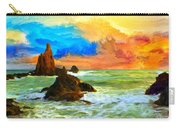 Oregon Coast At Sunset Carry-all Pouch