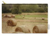 Oregon Hay Bales Carry-all Pouch by Carol Leigh