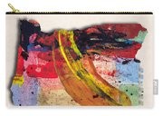 Oregon Map Art - Painted Map Of Oregon Carry-all Pouch