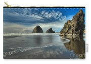 Oregon Sea Stack Surf Carry-all Pouch by Adam Jewell