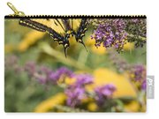 Oregon Swallowtail In The Garden  Carry-all Pouch