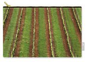 Oregon Vineyard Rows Panoramic Carry-all Pouch