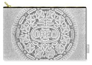 Oreo In Grey Carry-all Pouch by Rob Hans