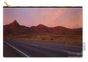 Organ Mountain Sunrise Highway Carry-all Pouch by Mike  Dawson