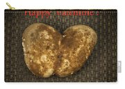 Organic Valentine Carry-all Pouch