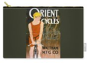 Orient Cycles Vintage Bicycle Poster Carry-all Pouch