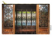 Orient - Door - The Temple Doors Carry-all Pouch by Mike Savad