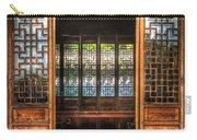 Orient - Door - The Temple Doors Carry-all Pouch