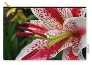 Oriental Hybrid Lily Named Dizzy Carry-all Pouch