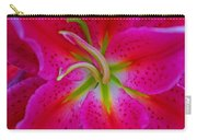 Oriental Lily Stamen Carry-all Pouch