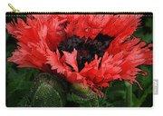 Oriental Poppy Carry-all Pouch