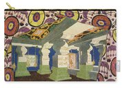 Oriental Scenery Design Carry-all Pouch
