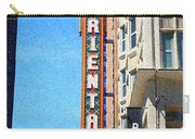 Oriental Theater With Sponge Painting Effect Carry-all Pouch