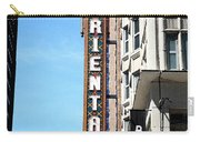 Oriental Theater With Watercolor Effect Carry-all Pouch