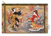 Oriental Triptych Carry-all Pouch