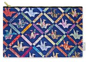Origami Quilt Wall Art Prints Carry-all Pouch