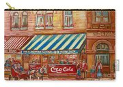 Original Bank Notre Dame Street Carry-all Pouch