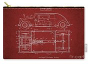 Original Harleigh Holmes Automobile Patent 1932 Carry-all Pouch