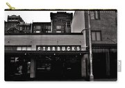 Original Starbucks Black And White Carry-all Pouch
