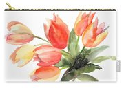 Original Tulips Flowers Carry-all Pouch