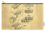Original Us Patent For Lego Carry-all Pouch by Edward Fielding
