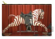 Original Zebra Carousel Ride Carry-all Pouch