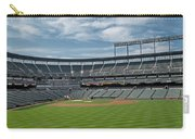 Oriole Park At Camden Yards Stadium Carry-all Pouch by Susan Candelario