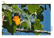 Oriole Watching Carry-all Pouch