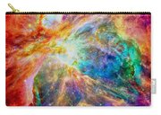 Orions Heart Rectangular Format Carry-all Pouch by Eti Reid
