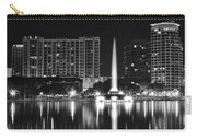 Orlando Black And White Night Carry-all Pouch