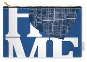 Orlando Street Map Home Heart - Orlando Florida Road Map In A He Carry-all Pouch