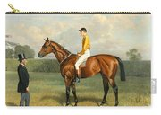 Ormonde Winner Of The 1886 Derby Carry-all Pouch by Emil Adam