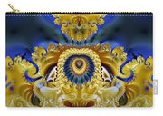 Ornamental Fountain - A Fractal Design Carry-all Pouch