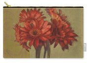 Ornamental Gerbers Carry-all Pouch