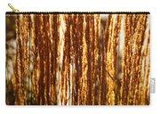 Ornamental Golden Grass Carry-all Pouch