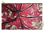Ornamental Leaf Carry-all Pouch
