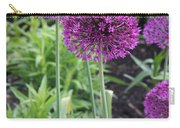Ornamental Leek Flower Carry-all Pouch
