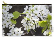 Ornamental Pear Blossoms No. 1 Carry-all Pouch